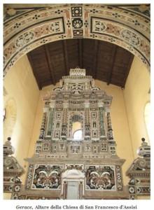 Altare Chiesa di S. Francesco